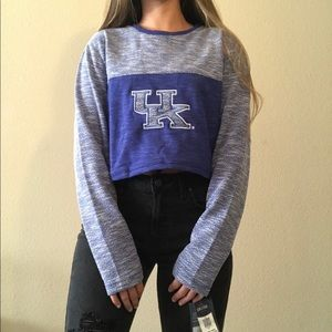 University of Kentucky Cropped Pullover